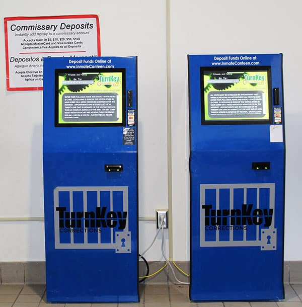Commissary Kiosks at Allen County Jail
