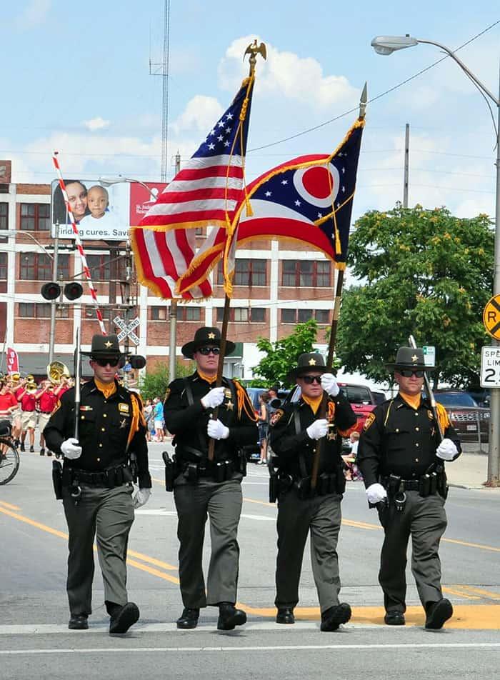 Allen County Sheriff's Office Honor Guard Unit