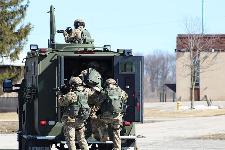 Allen County Sheriff's Office SWAT Team