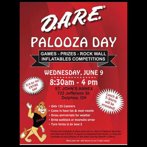 Register for D.A.R.E. Camp